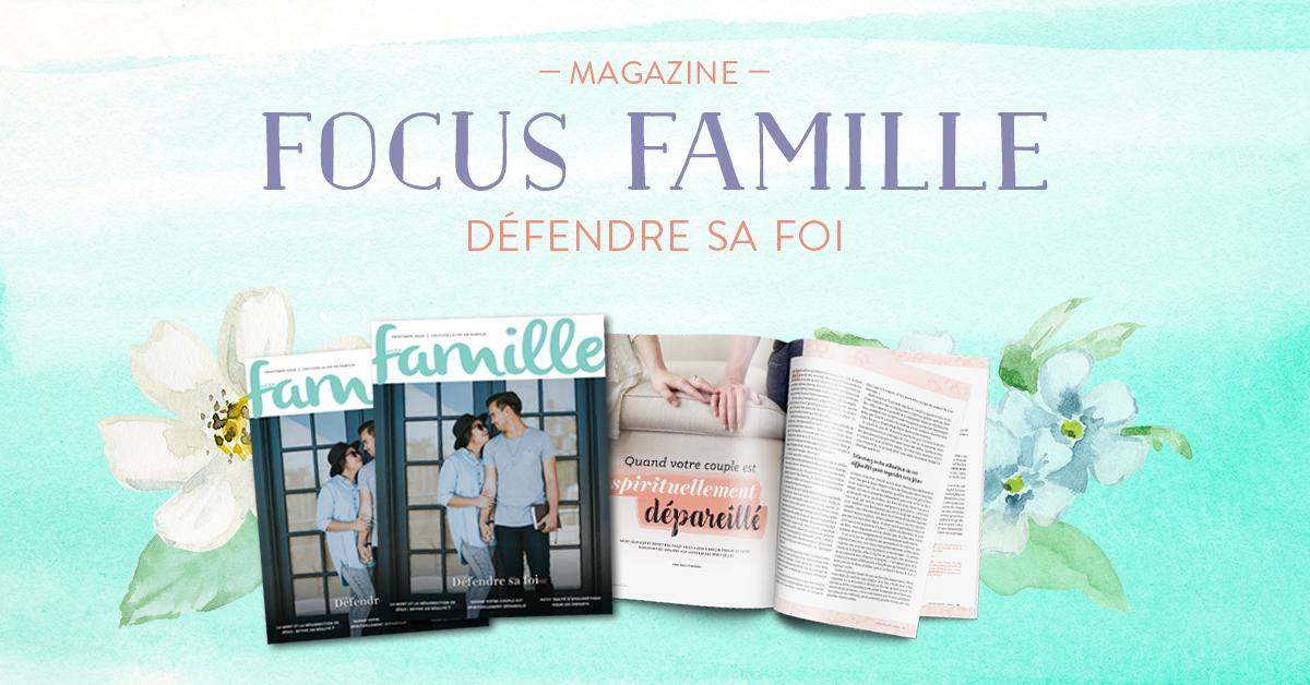 Focus Famille Printemps 2020
